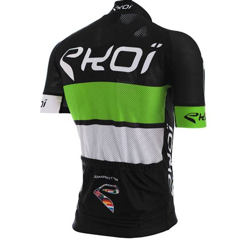 EKOI COMP10 BLACK GREEN WHITE JERSEY