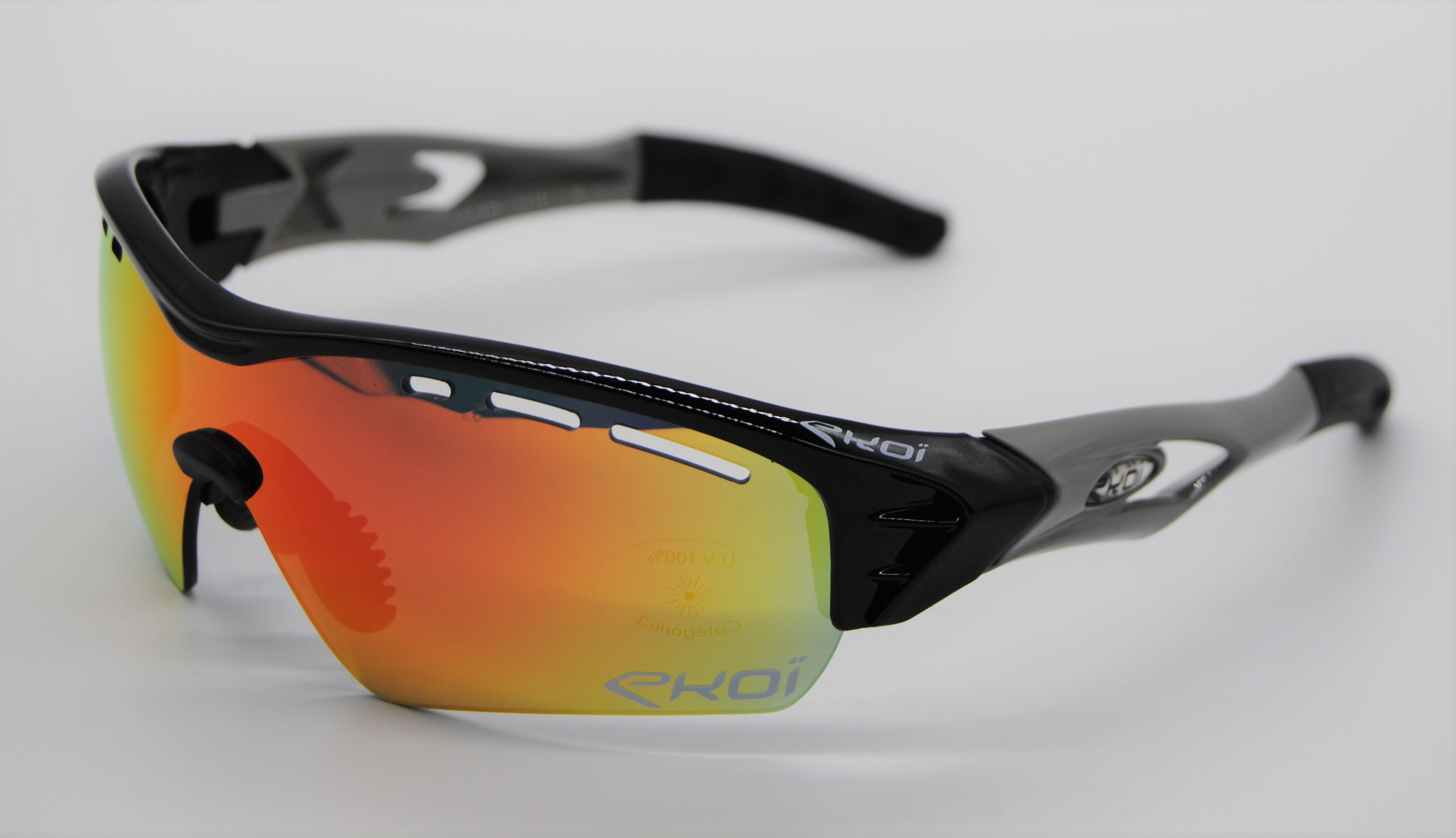 EKOI PERSO EVO 2 BLACK GREY SUNGLASSES