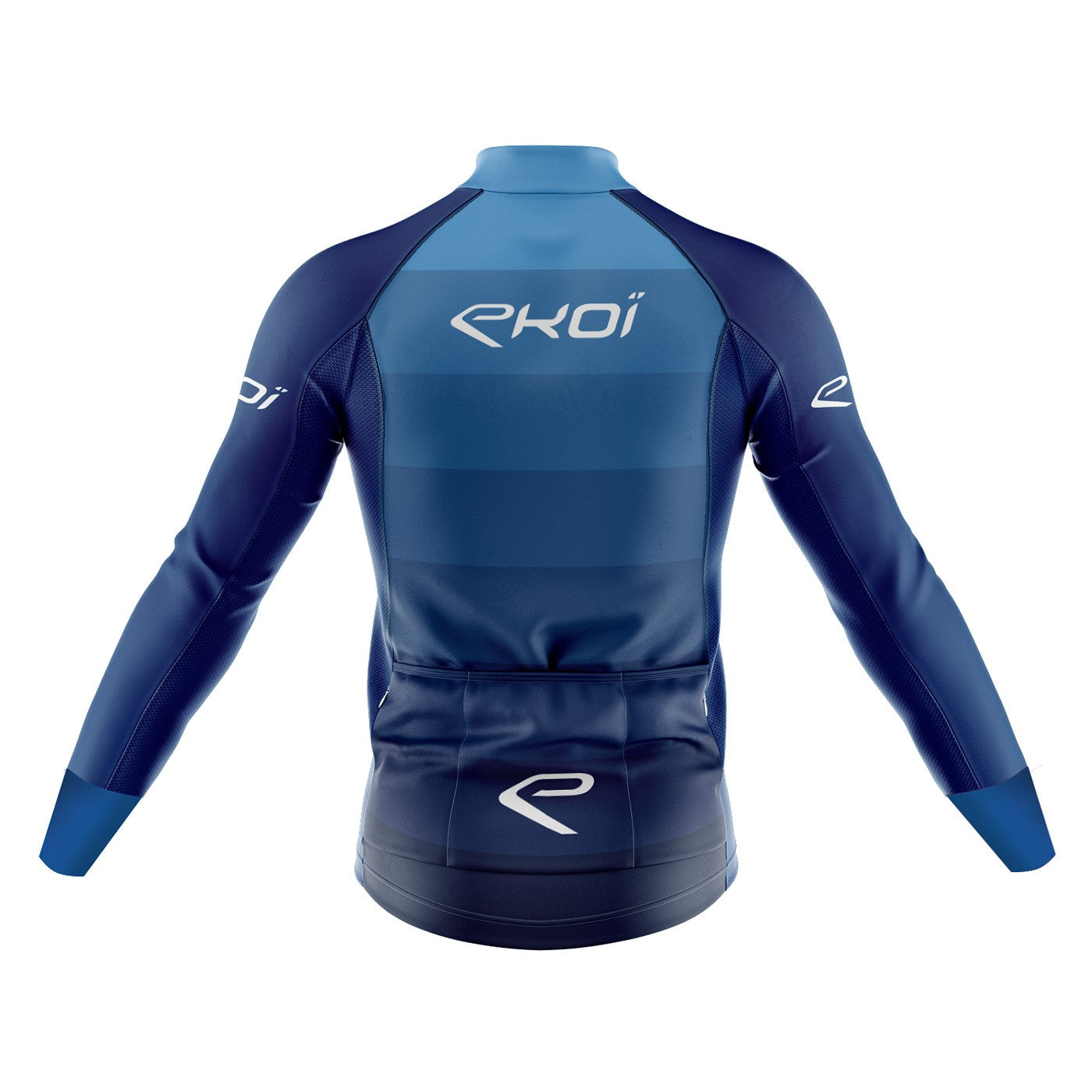 EKOI GRADIENT WINTER JERSEY BLUE