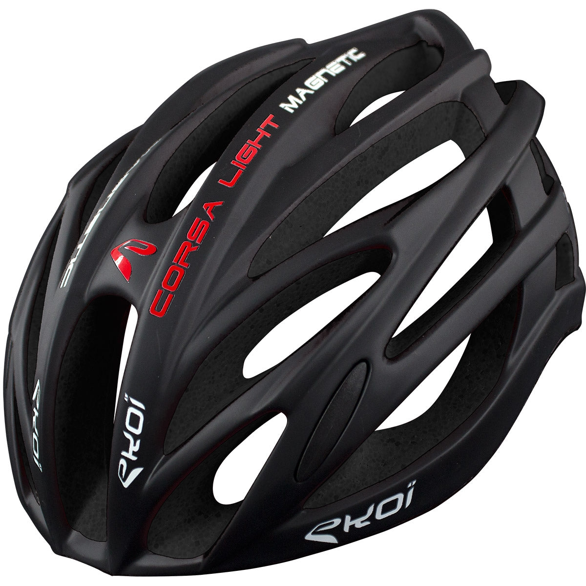 EKOI CORSA LIGHT 2017 FULL BLACK HELMET