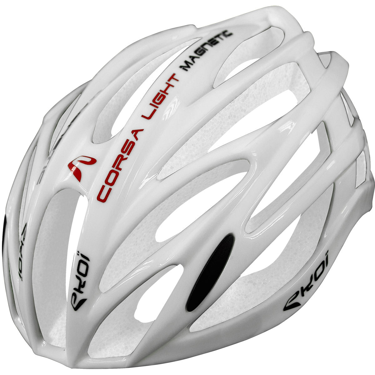 EKOI CORSA LIGHT 2017 FULL WHITE HELMET