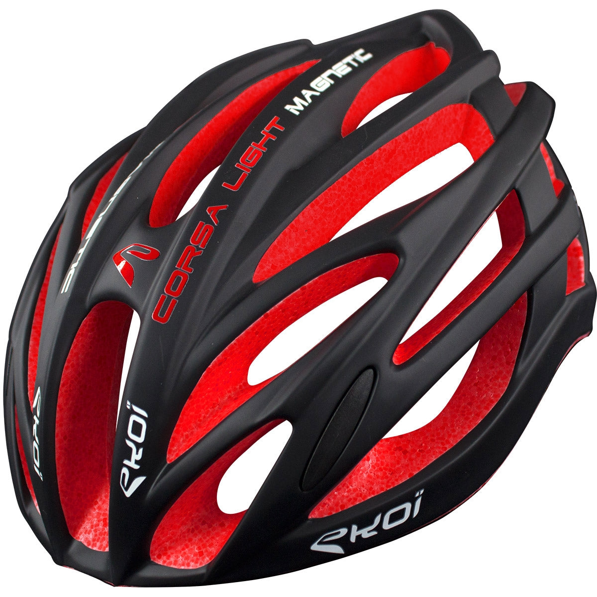 EKOI CORSA LIGHT 2017 BLACK RED HELMET