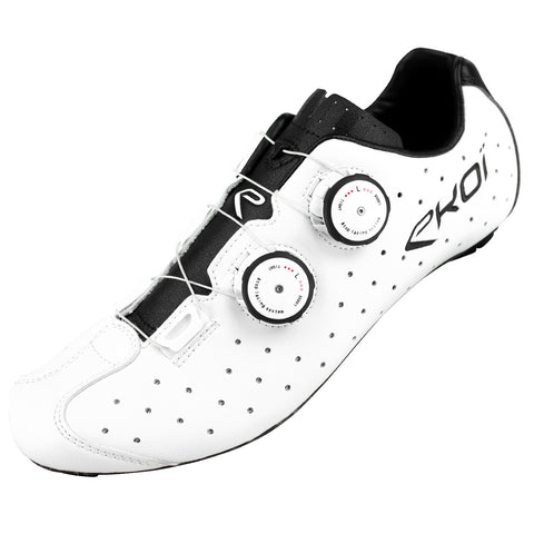 EKOI R4 WHITE ROAD SHOES