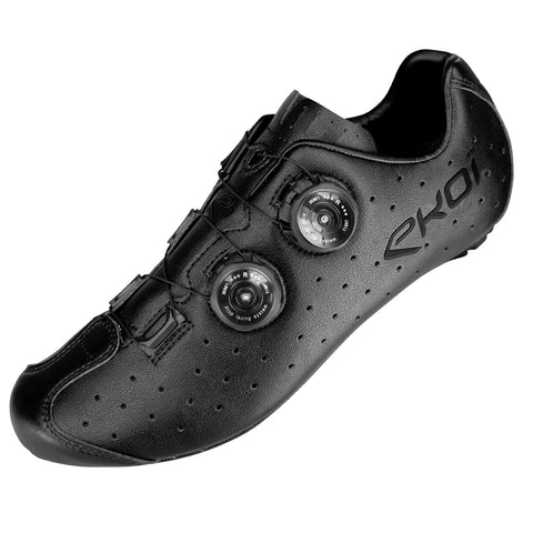 EKOI R4 BLACK ROAD SHOES