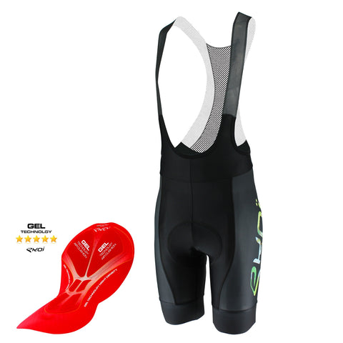 EKOI LIMITED EDITION ALL OVER THE WORLD GEL BIB SHORTS