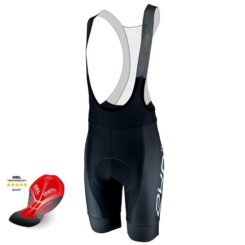 EKOI PROTECT GEL GRAY BIB SHORTS