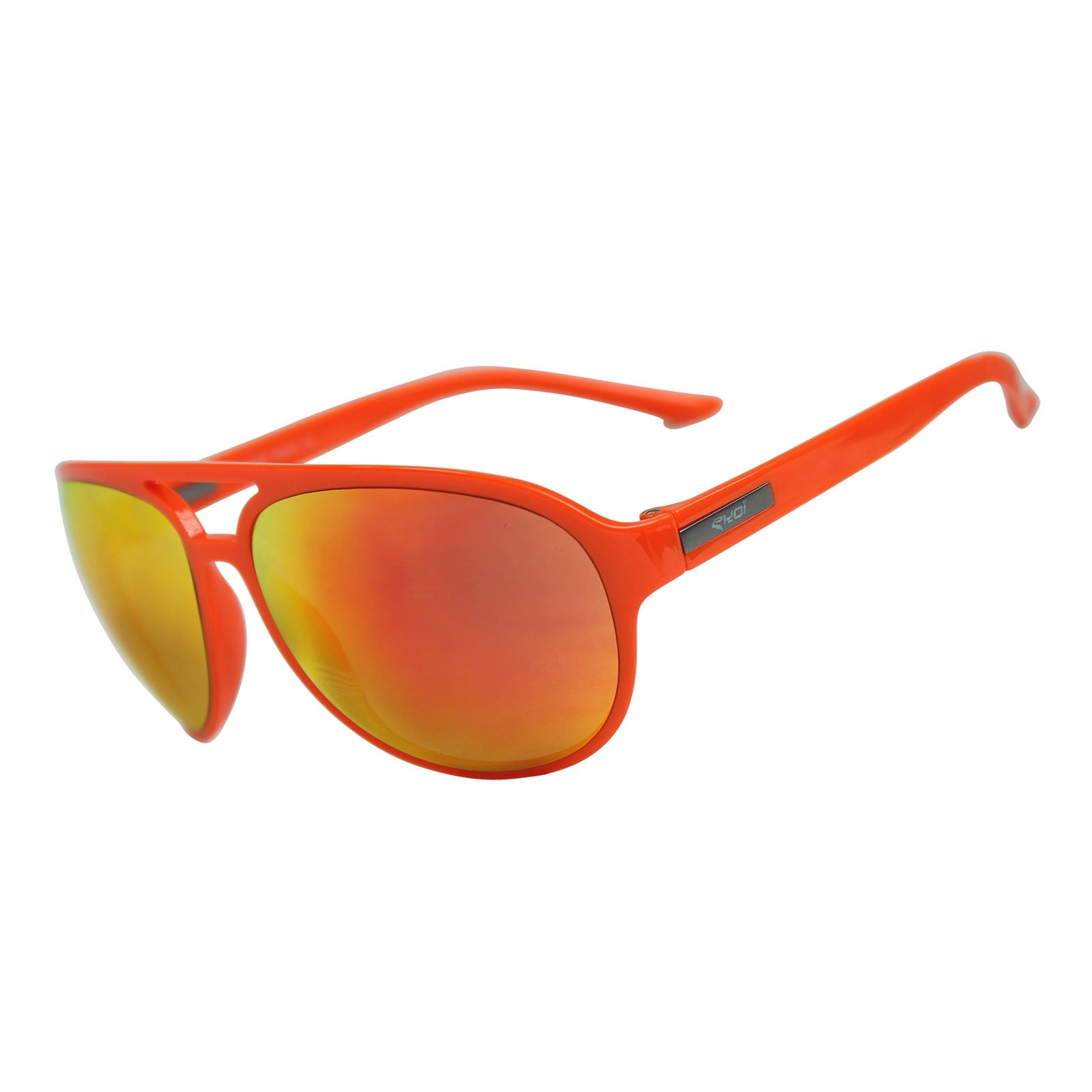 EKOI ROAD FASHION SUNGLASSES ORANGE