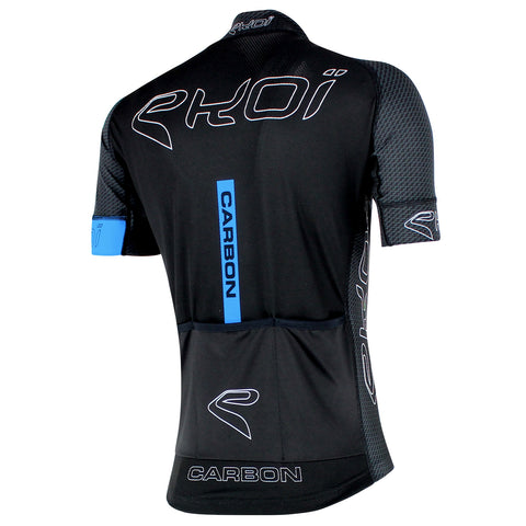 EKOI CARBON FIBER JERSEY BLACK BLUE
