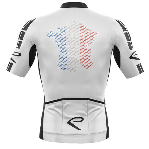 EKOI TDF JULY JERSEY WHITE