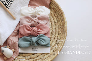 Peach Baby & Toddler Headband