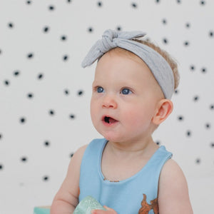 Grey Baby & Toddler Headband