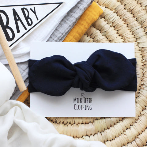 Navy Baby & Toddler Headband
