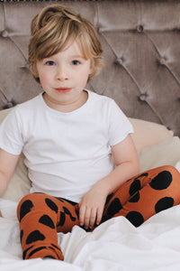 Rust Dot Baby & Toddler Leggings