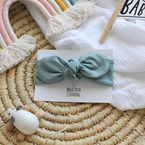 Sea Green Baby & Toddler Headband