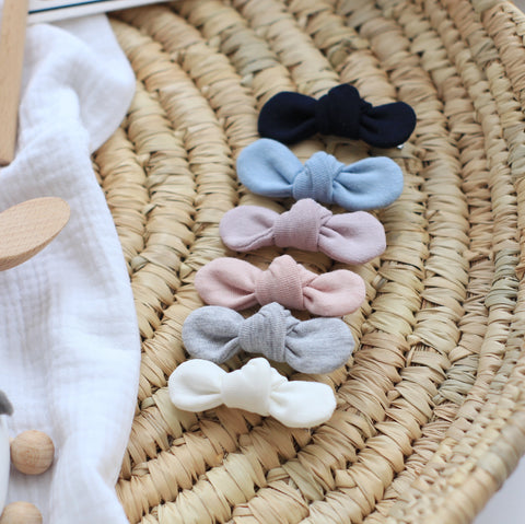 MIX & MATCH Baby Bow Clips