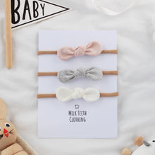 Load image into Gallery viewer, MIX & MATCH Baby Bow Headband Set