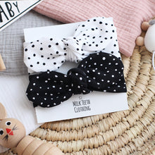 Load image into Gallery viewer, Set of 2 Dotty Headbands