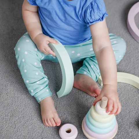Mint Polka Dot Baby & Toddler Leggings