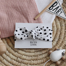 Load image into Gallery viewer, White Dalmatian Headband