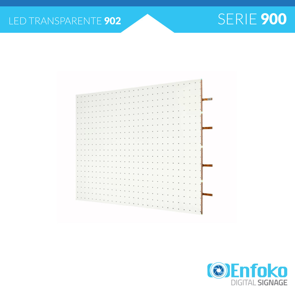 Tipo 902 - Transparent LED Color - 24mm - 30mm - LG - Venta