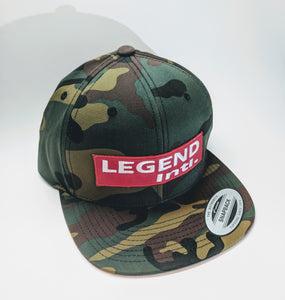 Legend Intl. | Flatty Camo Hat (Limited Release)