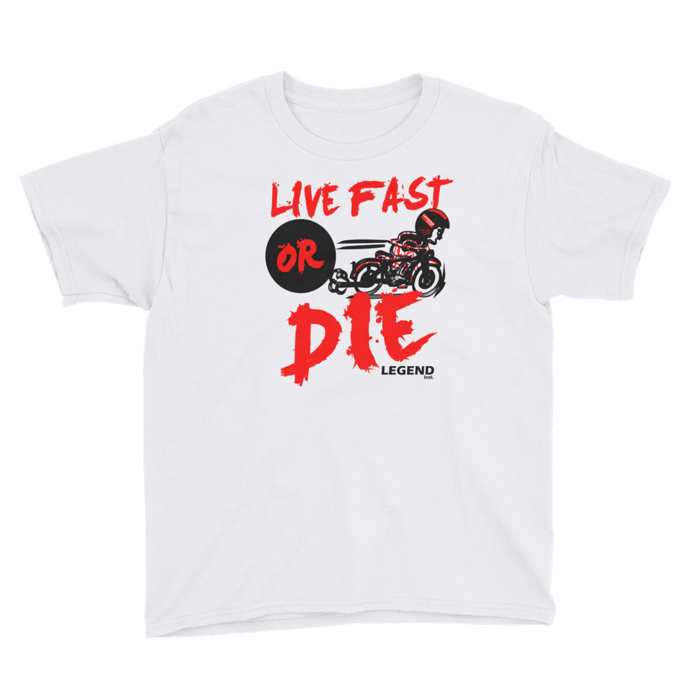 Legend Intl. | Live Fast or DIE Youth Tee