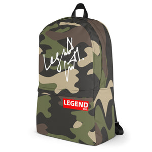 Legend Intl. Signature Camo Backpack