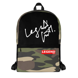 Legend Intl. Camo Legacy Backpack