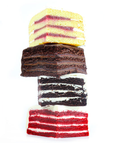Have Your Cake and Eat it Too!<br>Holiday 4-Layer Sampler