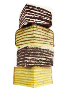 Have Your Cake and Eat it Too!<br>Holiday 7-Layer Cake Sampler