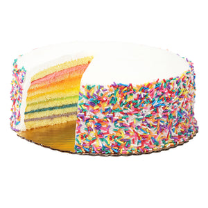 Happy Birthday Rainbow Cake