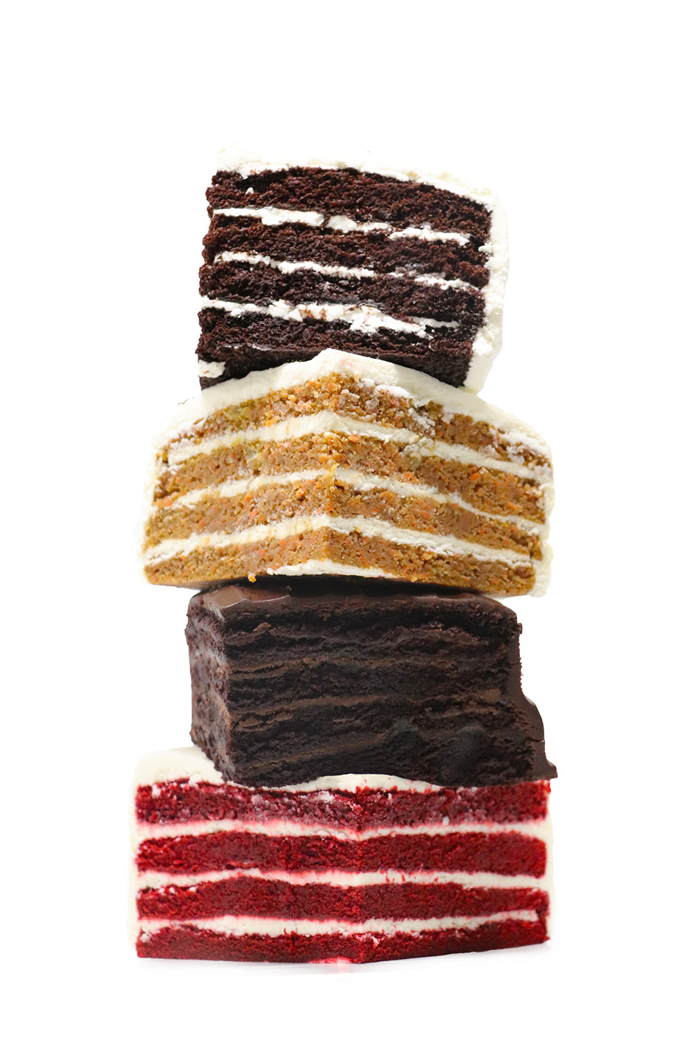 Have Your Cake and Eat it Too! <br>4-Layer Cake Sampler