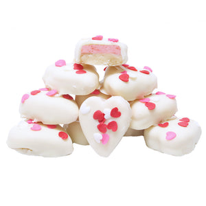 Strawberry Cream Hearts