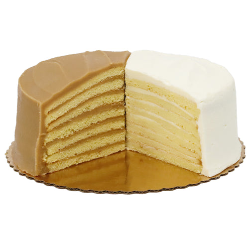 1/2 Caramel and <br> 1/2 7-Layer Lemon
