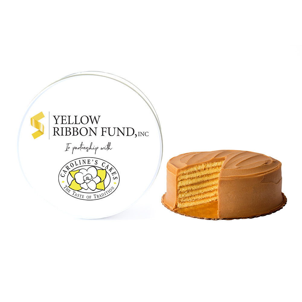 Yellow Ribbon Fund Caramel Cake