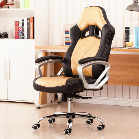 Luxury Ergonomic Fashion Office Chair Household Leisure Lying Lifting Computer Chair Super Soft Swivel Gaming Chair