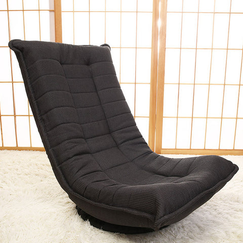 Japanese Floor Chair 360 Degree Rotation 3 Color Living Room Furniture Modern Leisure Zaisu Legless Gaming Chair Meditation Seat