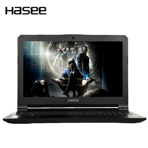 "HASEE Z7-KP7S1 Gaming Laptop Notebook PC for Intel i7-7700HQ GTX1060 6G GDDR5 8GB DDR4 256G SSD 1T HDD 15.6"" IPS"