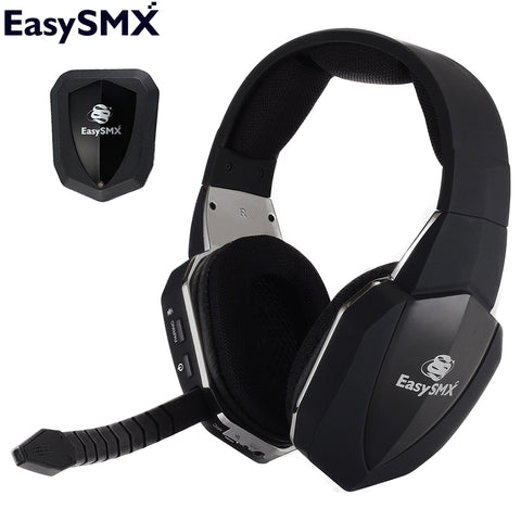 EasySMX HW-398M Wireless Gaming Headset headphones with Microphone Headphones for Xbox One PS4 PS3 Xbox 360 PC Gamer