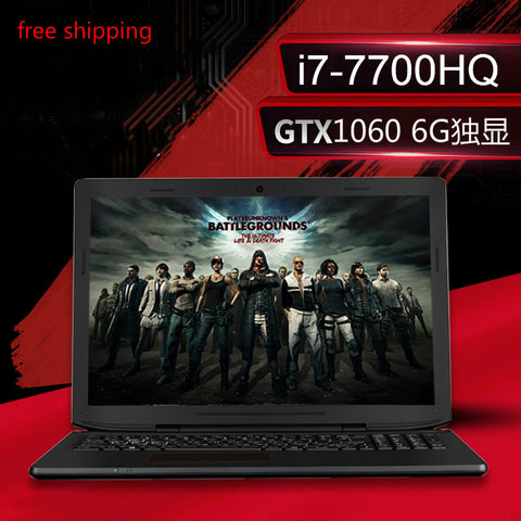 "ENZ Gaming Notebooks 15.6"" IPS FHD 1920*1080 PC Tablets GTX1060 Intel Core i7 7700HQ 16GB RAM 240GB SSD laptop free shipping"