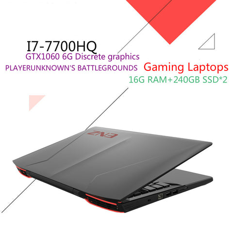 "ENZ K36P Gaming Laptops 15.6"" IPS FHD 1920*1080 PC Tablets GTX1060 DDR5 6G Intel Core i7 7700HQ CPU 16GB RAM 240GB SSD+240GB SSD"