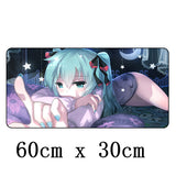 FFFAS 60x30cm Large Japan Anime Fashion Mouse Pad Mat Gamer Gaming Mousepad Keyboard Table Decorate for Tablet PC Internet Bar