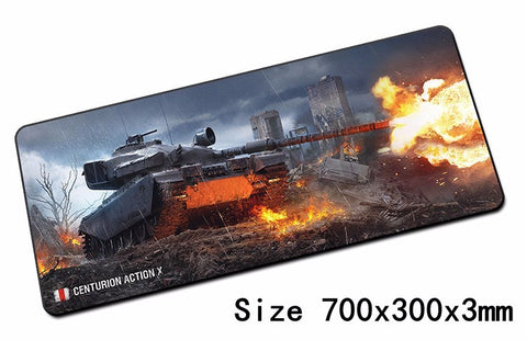 Mairuige World of Tanks Mouse Pad Mouse Pad Notbook Computer Mousepad Gaming Pad Edge Overlock Overlock Big Rim Mouse Pad