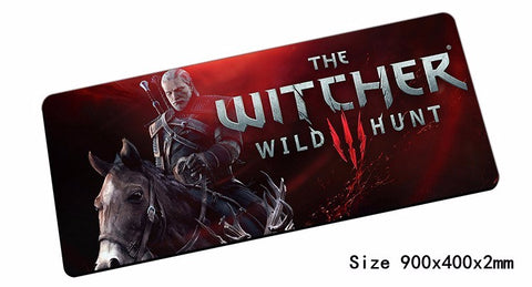 Mairuige Witcher Overlock Mouse Pad 80x30cm Computer Notbook Mousepad  Gaming Padmouse Gamer To Big Laptop Mouse Pads Desk Latop