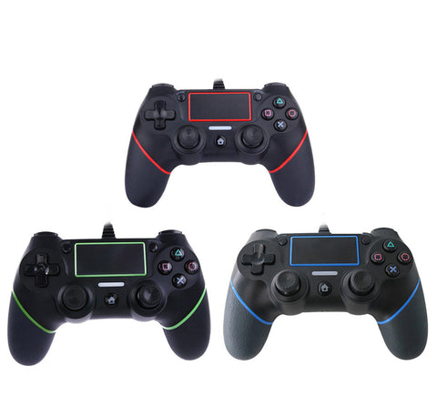 USB Wired Controller For PS4 Playstation Dualshock Sony Gamepads Joystick Joypad Controle Multiple Vibration for PC Computer