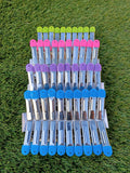 20 x Stainless Steel Laundry Pegs Colourful Soft Grip Long Lasting - Pad to Safeguard Delicate Fabric 6 cm