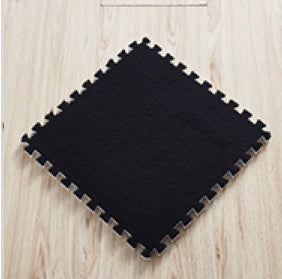 BuyElegant Black EVA Rug 30 x 30 cm @www.buyelegant.co.uk