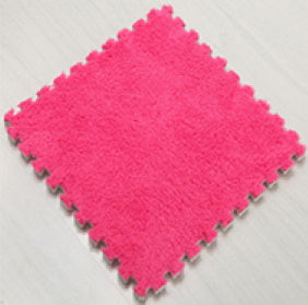 BuyElegant Pink EVA Rug 30 x 30 cm @www.buyelegant.co.uk