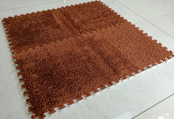 BuyElegant Brown EVA Rug 30 x 30 cm @www.buyelegant.co.uk