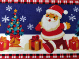 Christmas - Santa Rugs / Runners / Carpets - 100% Polyester Anti-slip latex back - 137x49cm